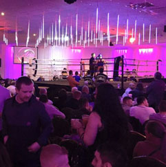 Sports event spaces in Leeds
